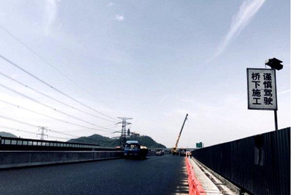 杭州:西小江桥施工柯桥西收费站关50天_卡车之家