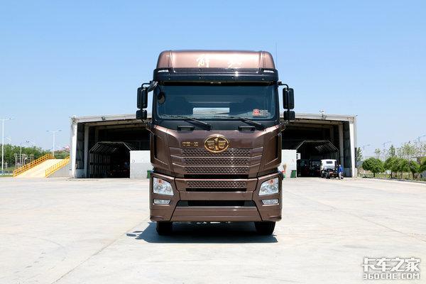 向欧洲卡车看齐!图解JH6智尊550重卡