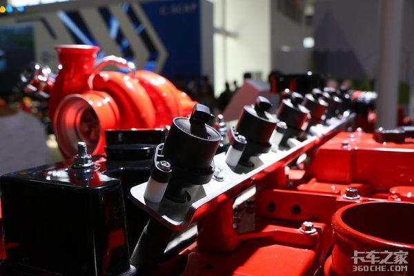 提前满足国六b标准康明斯新发动机亮相