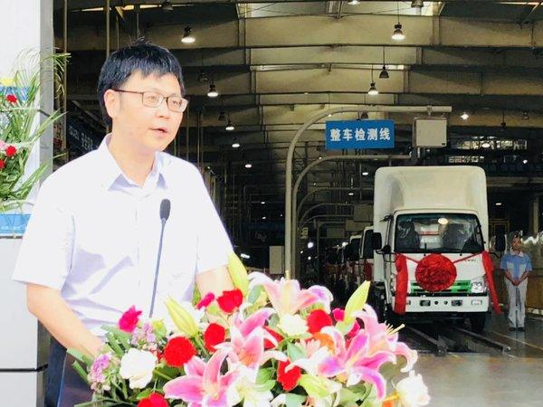 庆铃首批新能源汽车交车仪式顺利举行
