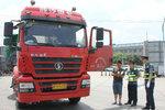 西安严查货车污染 国三渣土车须加装DPF