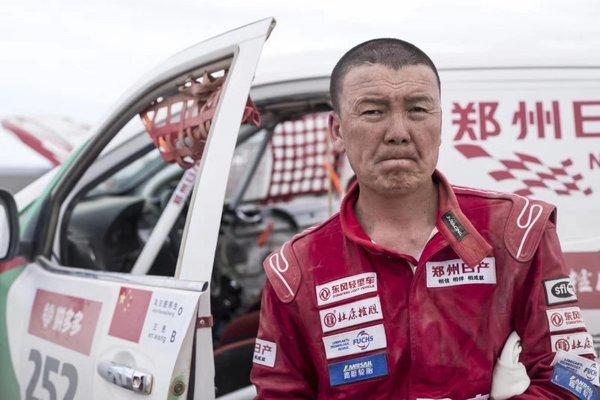 郑州日产纳瓦拉车队捍卫环塔冠军荣耀