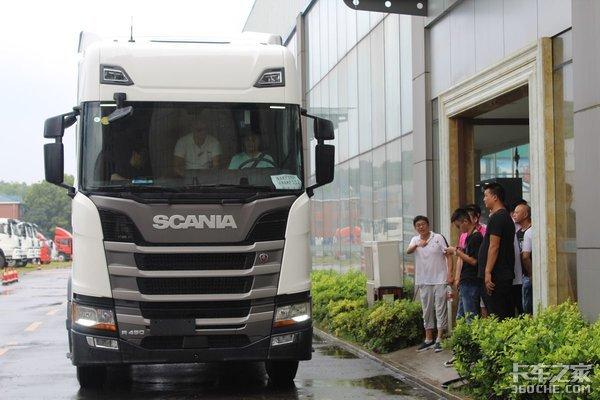 震撼上市斯堪尼亚全新一代卡车亮相长沙