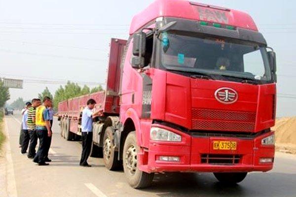 安庆:前5个月治超查处违法车辆共计576台