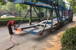 7・1整治全面整治轿运车 郑州:超长不能上高速 跳板必须收起