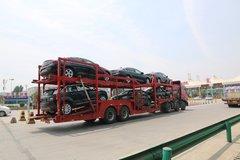 超长轿运车禁上高速 西安执法很严格!