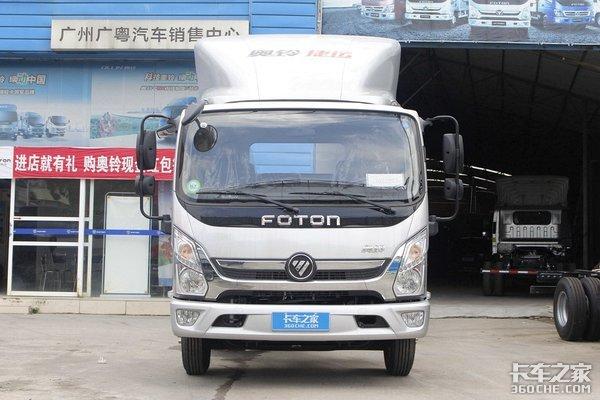 156马力的福田重载轻卡奥铃新捷运到底新在哪?