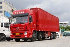 8x2还有后提升 实拍三环昊龙9米6载货车