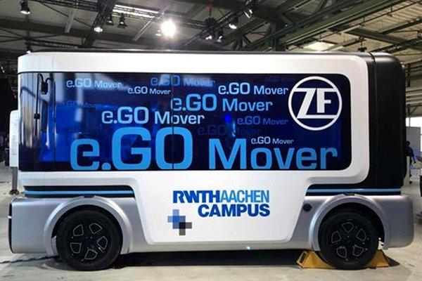 采埃孚发布e.GoMover将于2019年量产