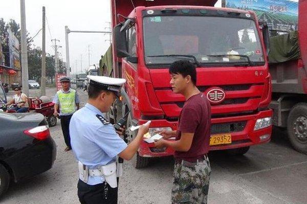 天津:渣土车闯禁行所涉事企业被约谈