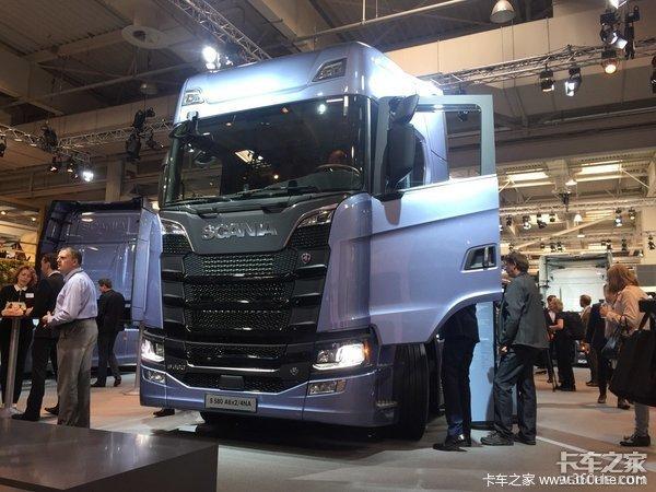 2018汉诺威:斯堪尼亚计划展出10款卡车