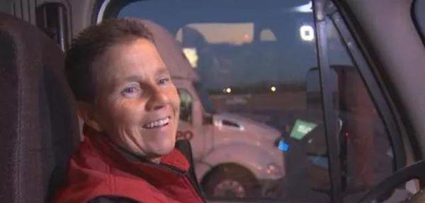 美国女卡车司机创28年3百万英里零事故