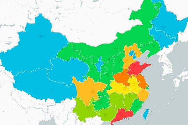 全国卡友怎么分布?大数据热力图帮助您