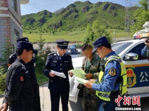 青海:两部门打击涉路违法行为查获冲卡逃费30次卡车司机