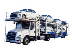 政策严格实施 长头轿运乘龙T5多拉一辆