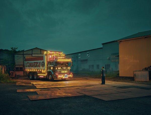 花费上万欧元装扮卡车日本车主真想得开!