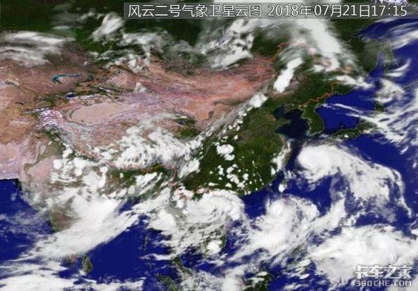 东南沿海的卡友请注意台风橙色预警发布!最大风力可达12级