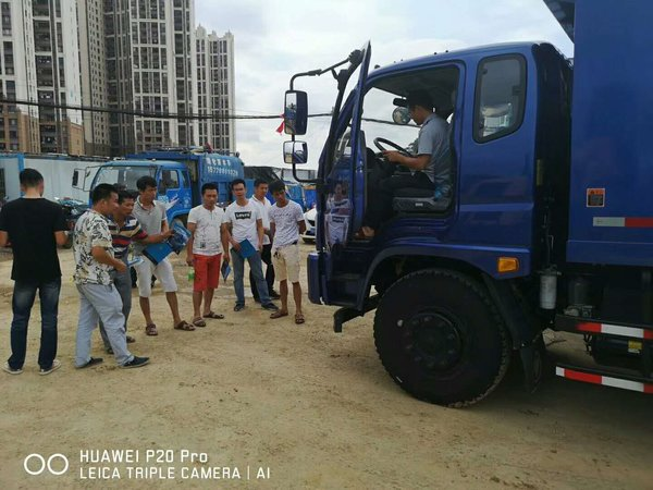 全新时代酷爽体验南宁区域福田瑞沃渣土车用户体验活动圆满结束
