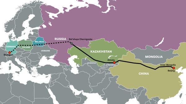 奔驰天下 一万公里的旅程:新丝绸之路上,奔驰新Actros一路前行