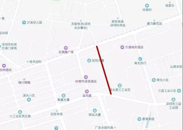 深圳:这些道路因地铁施工封闭6个月你可以这样绕行