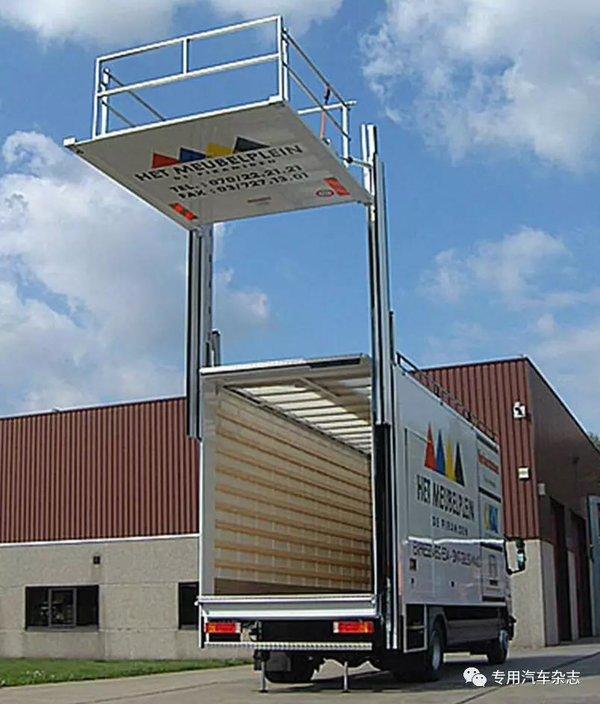 降低运输成本全球汽车尾板技术发展