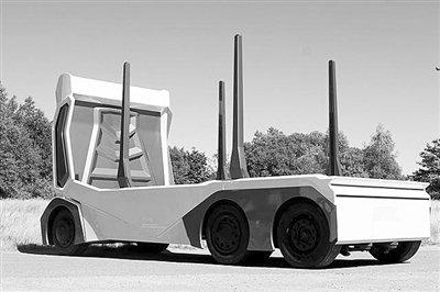 瑞典纯电动伐木工程卡车四级自动驾驶数百英里外可远程遥控