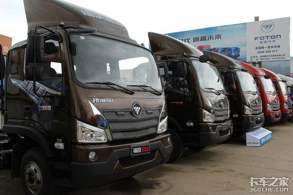 订车36台昆明赛航福田时代重载新品体验活动