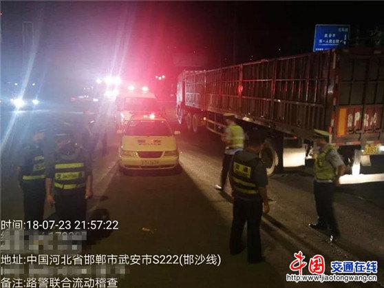 河北邯郸:交通运输局、公安局共推联合治超常态化制度化