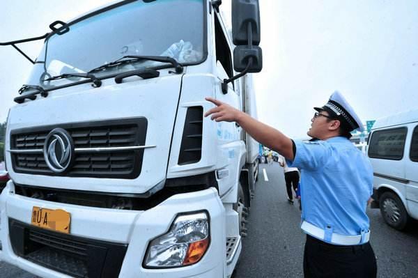 """宁波:7.2万辆营运货车下月起""""两检合一""""可节省约600万"""