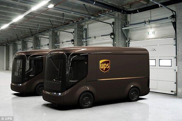 UPS自主研发电动卡车 或将搭载自动驾驶