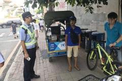 深圳:全市整治,250辆快递三轮车被扣