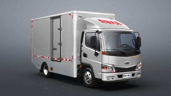 18方大货箱续航320km开瑞电动轻卡将于今天上市