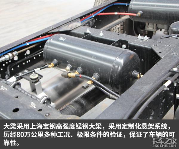 156马力配8挡箱这款轻卡专为重载而生