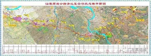 西江流域最大跨径的悬索桥,清云高速西江特大桥合龙!