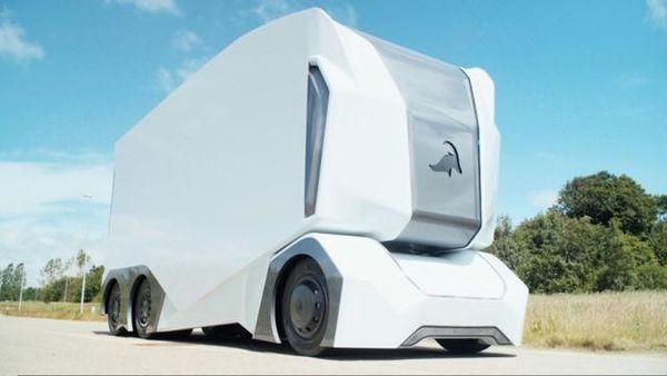 没有驾驶室的卡车,全自动都不需要司机了,2年后就会上市