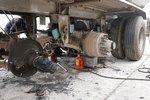 制动凸轮轴间隙大 可能会造成起火事故