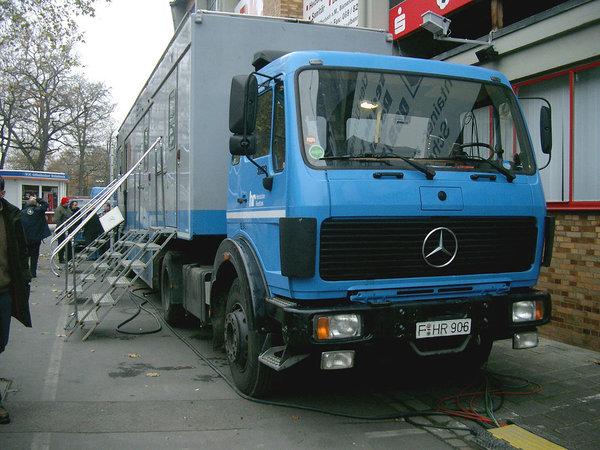 北奔引进NG80的年代德国已经有自动挡