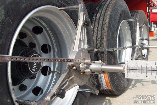 """卡友们注意了!请尽快检查挂车悬架否则它会""""吃""""掉你的轮胎"""