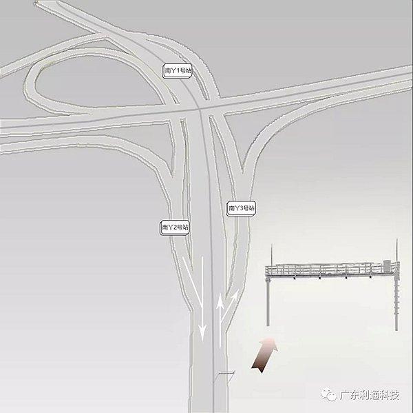 广东:全国首条高速公路主线ETC自由流开通运行