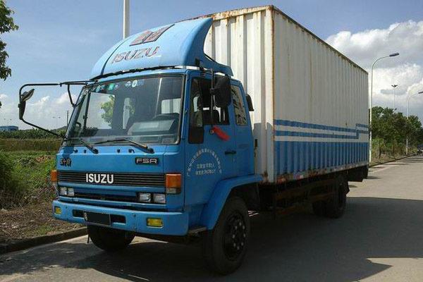 90年代广东遍地是这些日本卡车,有的至今还在服役