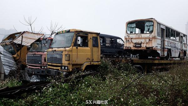 当年广东不少进口卡车有的至今仍服役