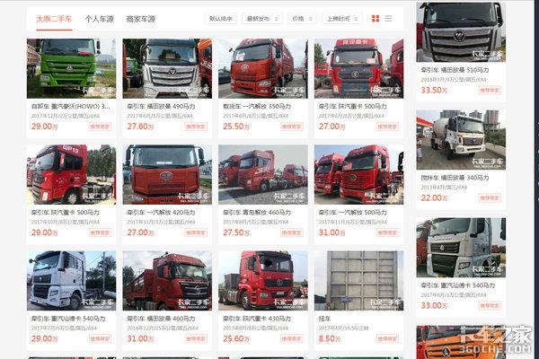 谁说二手卡车不好买?辽宁卡友驱车200公里当天订车!