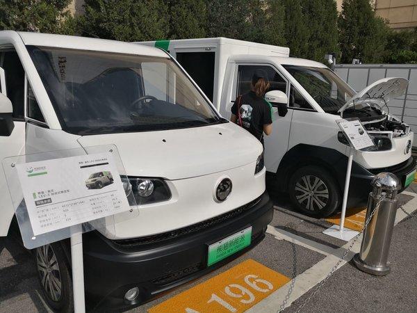 """河南:安阳大力推广应用新能源货车城区货运配送添""""绿色"""""""