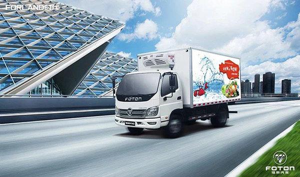 助力冷链物流高质量发展,看福田时代M3冷藏车是怎么做的