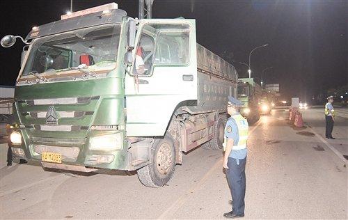 南宁集中整治泥头车8月起时速不能超40