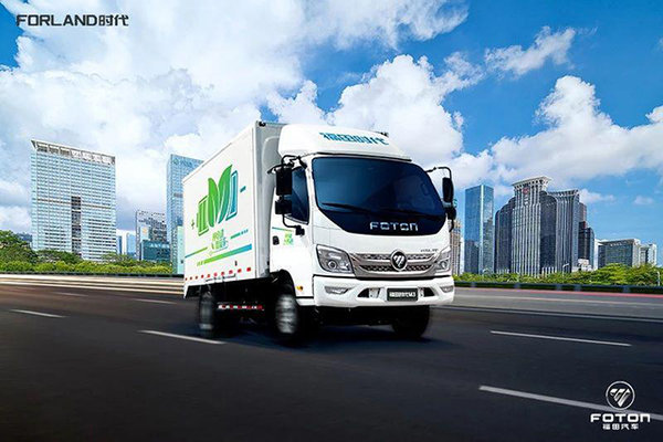 福田时代M3荣登用户满意榜,被评为质量五星级产品