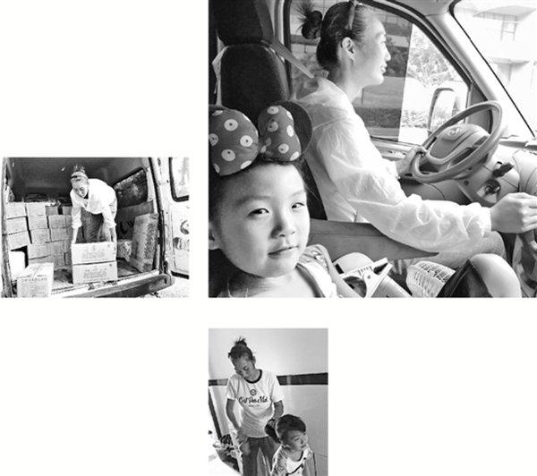 7岁女孩的'跟车'童年:不做留守儿童陪妈妈跑货运