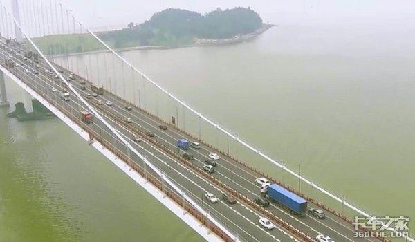 10月1日起这些大货车白天禁止通行虎门大桥