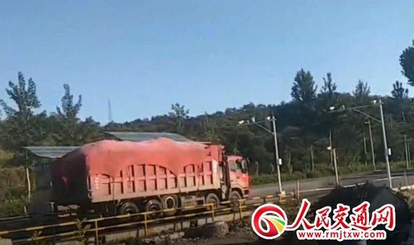 河北青龙县:超载大货车畅行无阻多个部门互相推责