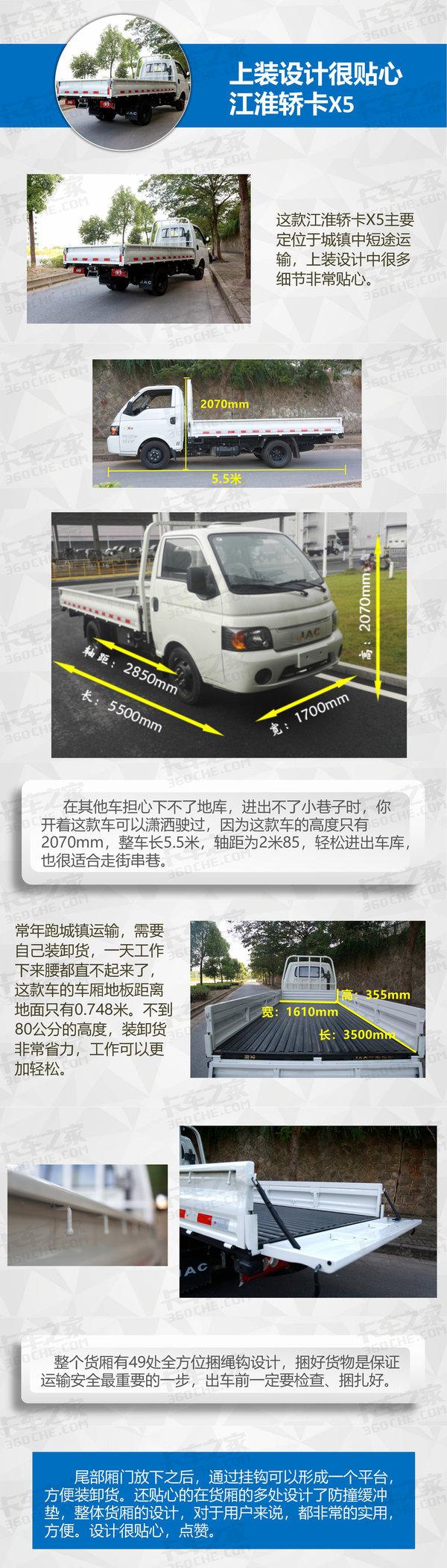 不只是颜值高售价53800元的江淮X5图解